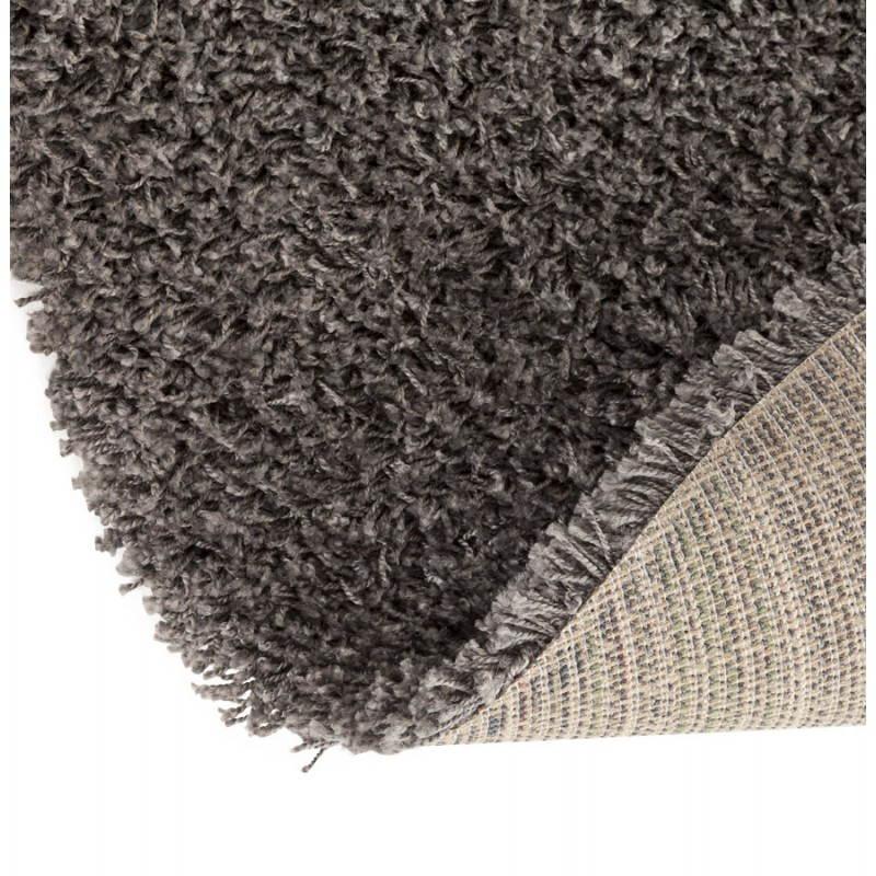 Tapis contemporain et design MIKE rond petit modèle (Ø 160 cm) (gris) - image 20383