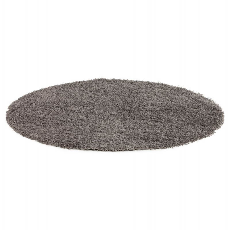 Contemporary rugs and design large round MIKE model (Ø 200 cm) (grey) - image 20388