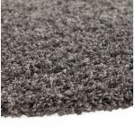 Tapis contemporain et design MIKE rond grand modèle (Ø 200 cm) (gris)