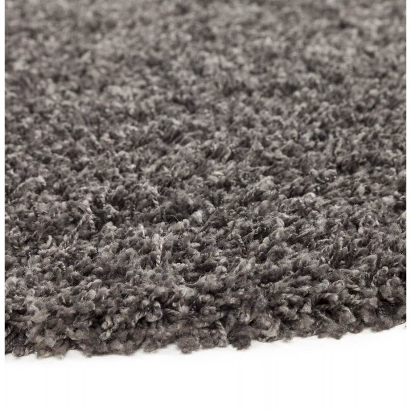 Tapis contemporain et design MIKE rond grand modèle (Ø 200 cm) (gris) - image 20390