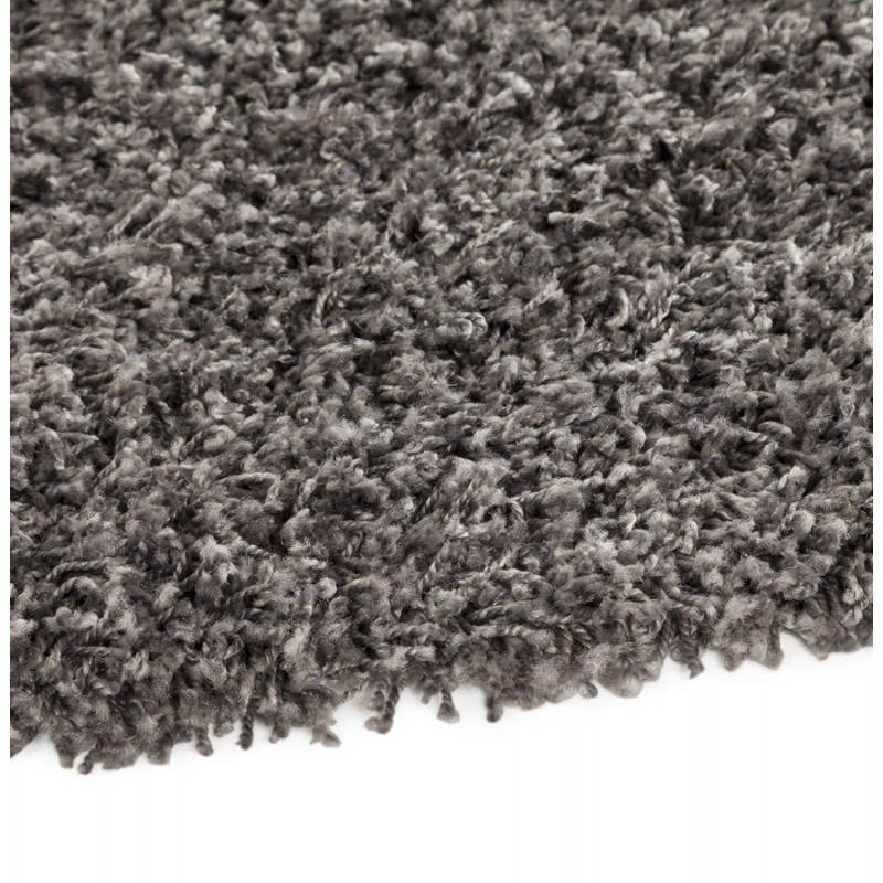 Tapis contemporain et design MIKE rond grand modèle (Ø 200 cm) (gris) - image 20391