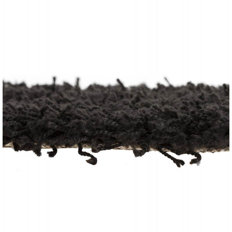 Contemporary rugs and design MIKE round small model (Ø 160 cm) (black) - image 20406