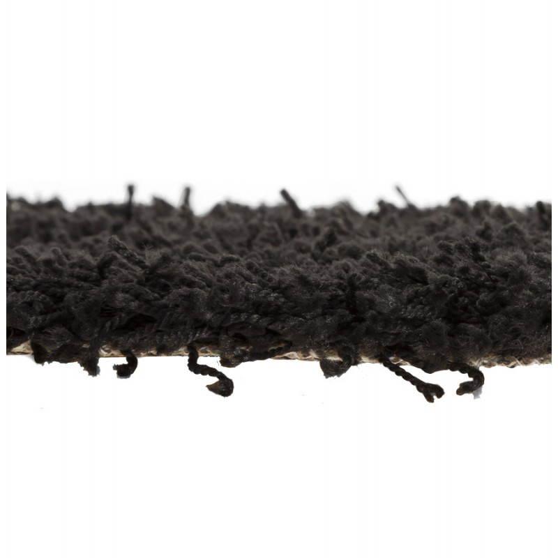 Zeitgenössische Teppiche und Design MIKE Runde kleines Modell (Ø 160 cm) (schwarz) - image 20406