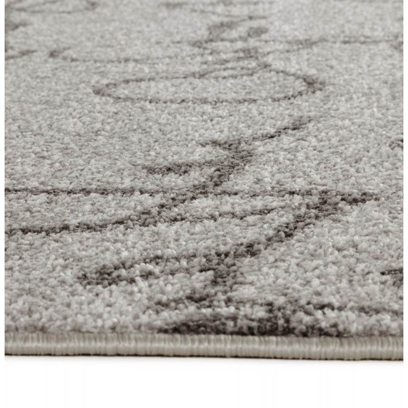Contemporary rugs and rectangular FLORIEN design (160 X 230) (beige and black) - image 20447