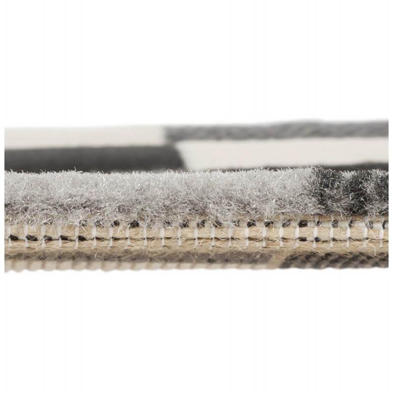 Zeitgenössische Teppiche und Design RONY rechteckig (schwarz, grau, weiß) - image 20488