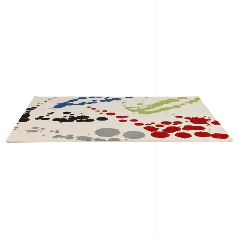 Contemporary rug rectangular design ROUBE (multicolor) - image 20491