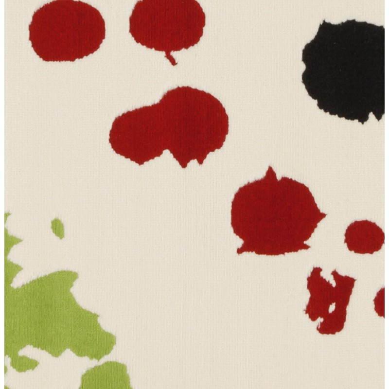 Contemporary rug rectangular design ROUBE (multicolor) - image 20493