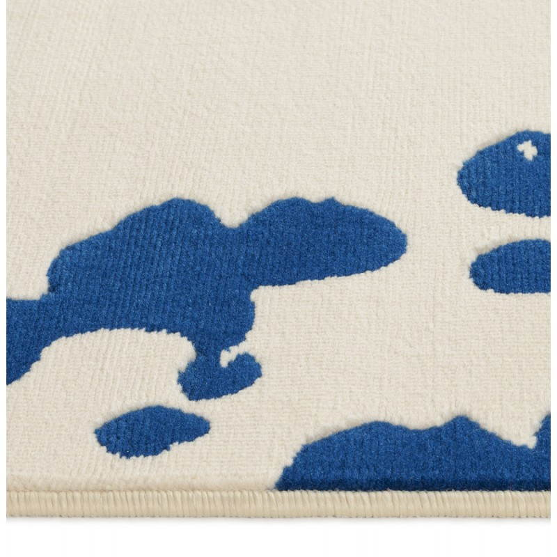 Contemporary rug rectangular design ROUBE (multicolor) - image 20494