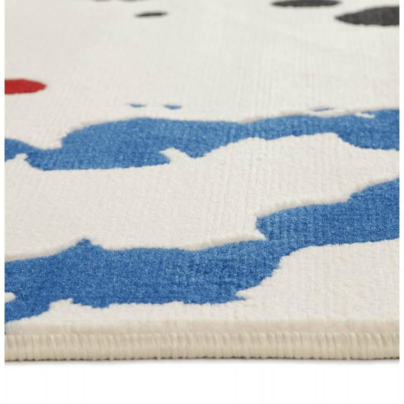 Contemporary rug rectangular design ROUBE (multicolor) - image 20495