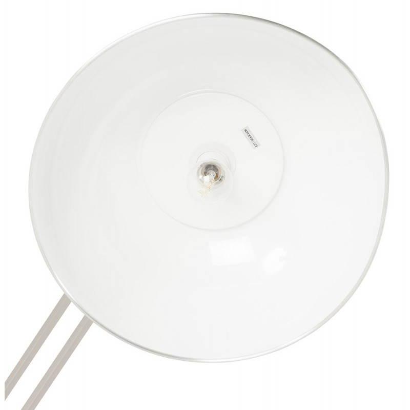 Pie de lámpara diseño COTINGA cepillado de metal (aluminio) - image 20513