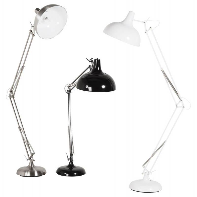 Piedi di lampada design COTINGA spazzolato metallo (alluminio) - image 20518