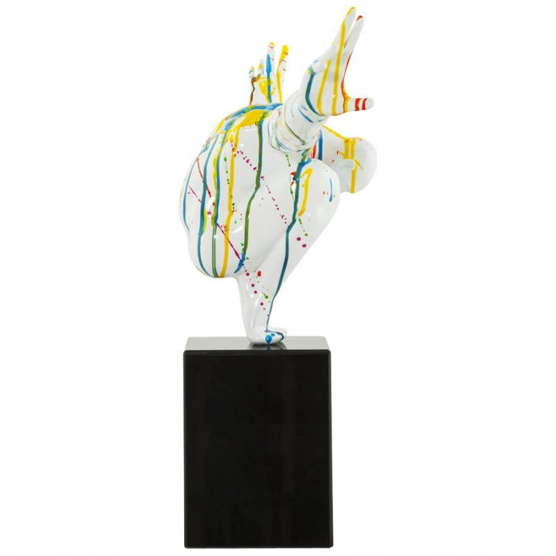 Statue forme nageur BANCO en fibre de verre (multicolore) - image 20523