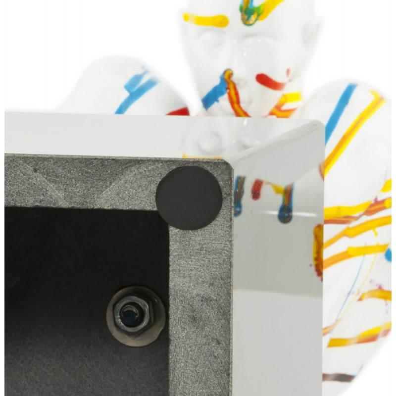 Statue forme nageur BANCO en fibre de verre (multicolore) - image 20530