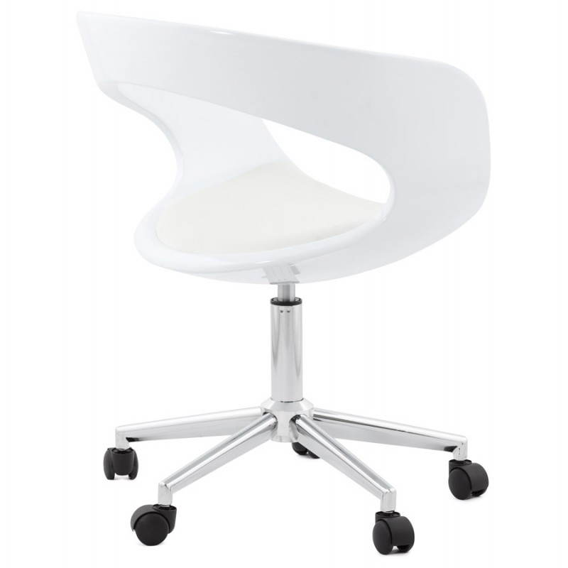 RAMOS rotating sphere office chair (white) - image 20575