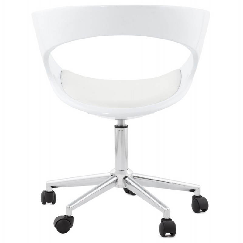 RAMOS rotating sphere office chair (white) - image 20576