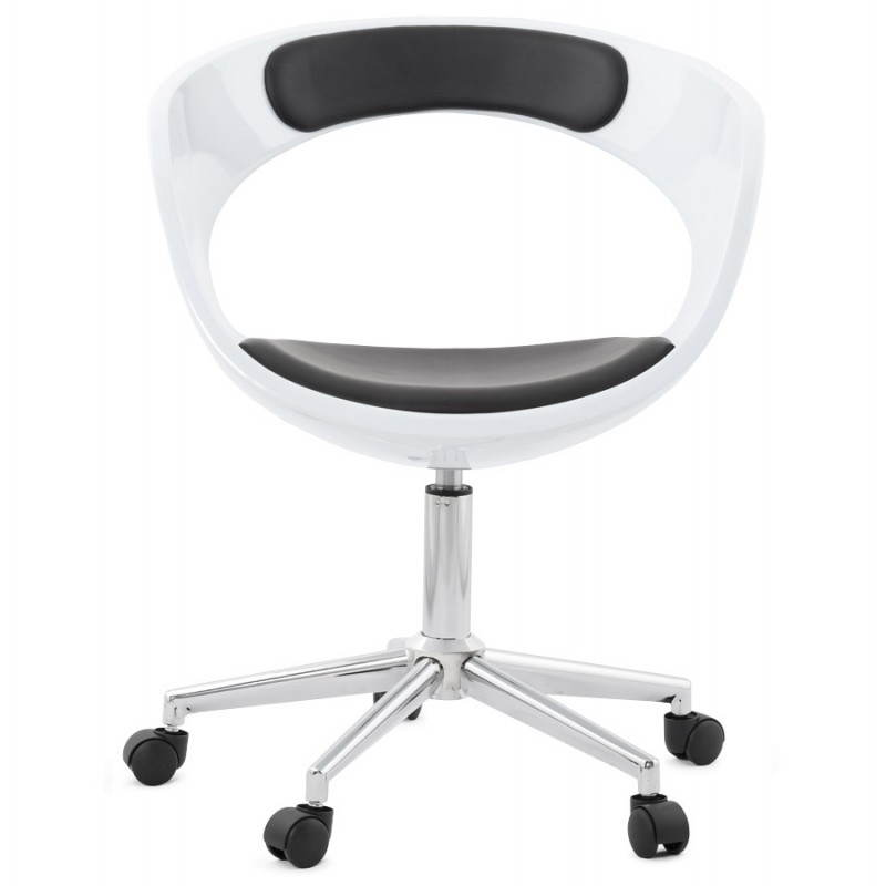 RAMOS rotating sphere office chair (white and black) - image 20585