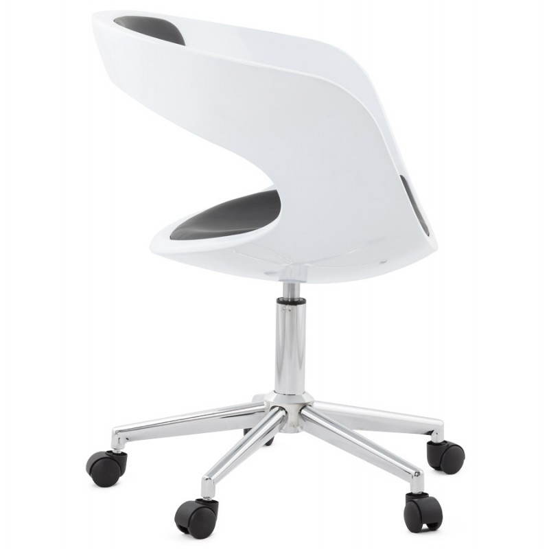 RAMOS rotating sphere office chair (white and black) - image 20586
