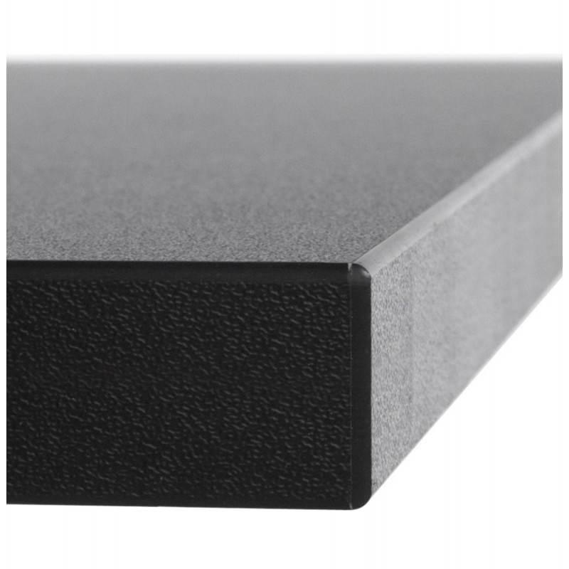 Plateau de table GRENADINE en bois (140cmX70cmX3cm) (noir) - image 20981