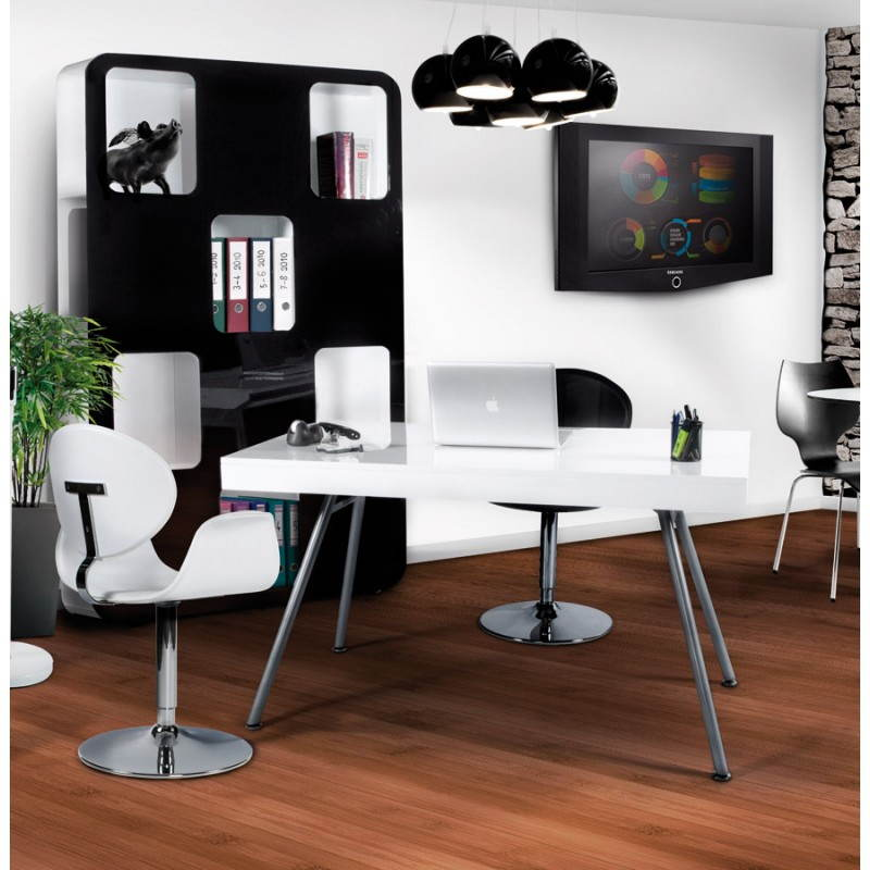 Design office Palau in lacquered wood and painted metal (white) - image 21019