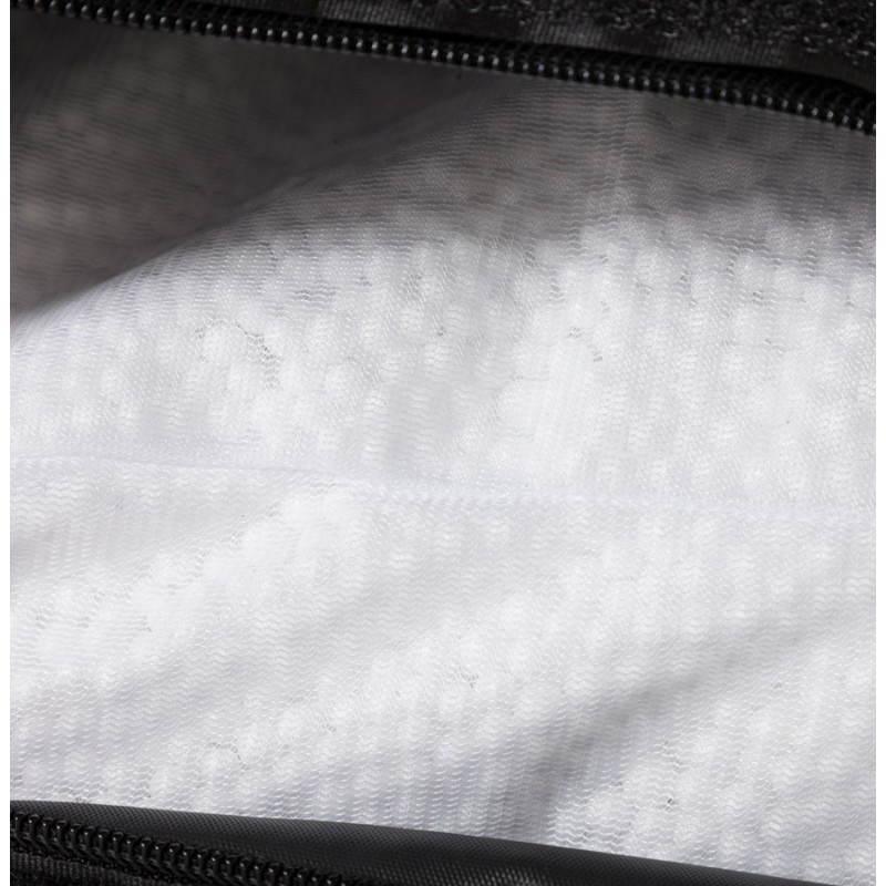 Pouf rectangulaire JANOT en textile (noir) - image 21226
