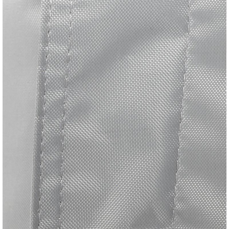 Pouf rectangulaire MILLOT en textile (gris) - image 21269