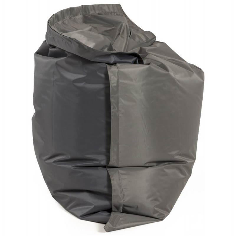 Puff rectangular MILLOT textile (dark grey) - image 21284