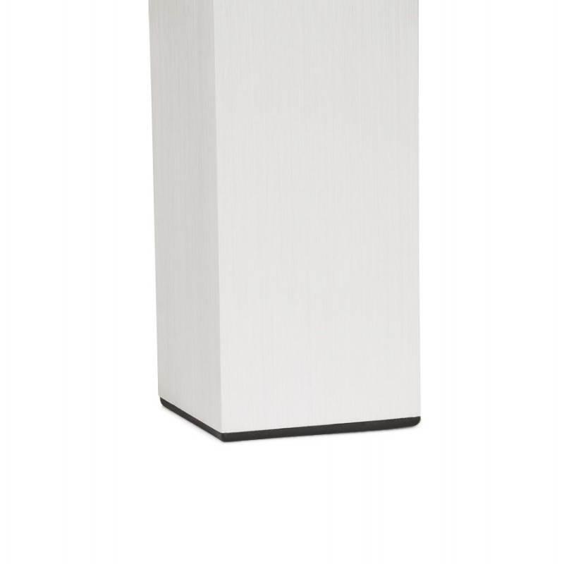 Table design avec 2 rallonges MACY en bois peint (noir) - image 21330