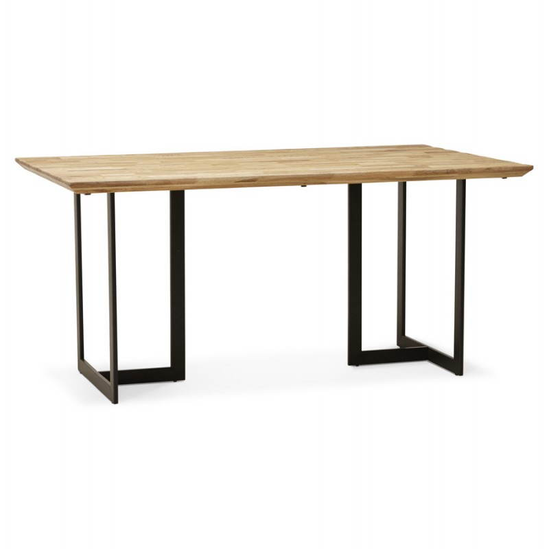 Table moderne rectangulaire nanou en ch ne - Table moderne en bois ...
