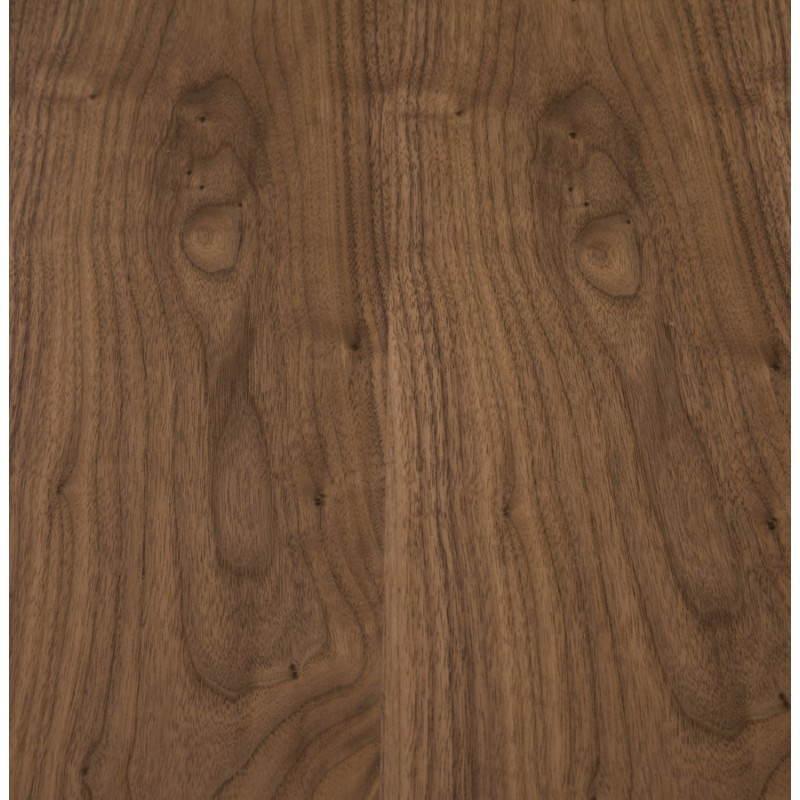 Table design rectangulaire SOPHIE en bois (140cmX70cmX72cm) (noyer) - image 21474