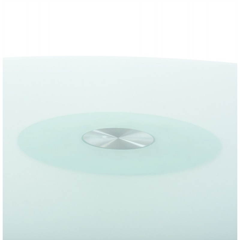 Design-Roundtable Suma in gehärtetem Glas und Glasfaser (Ø 140 cm) (Sand) - image 21543