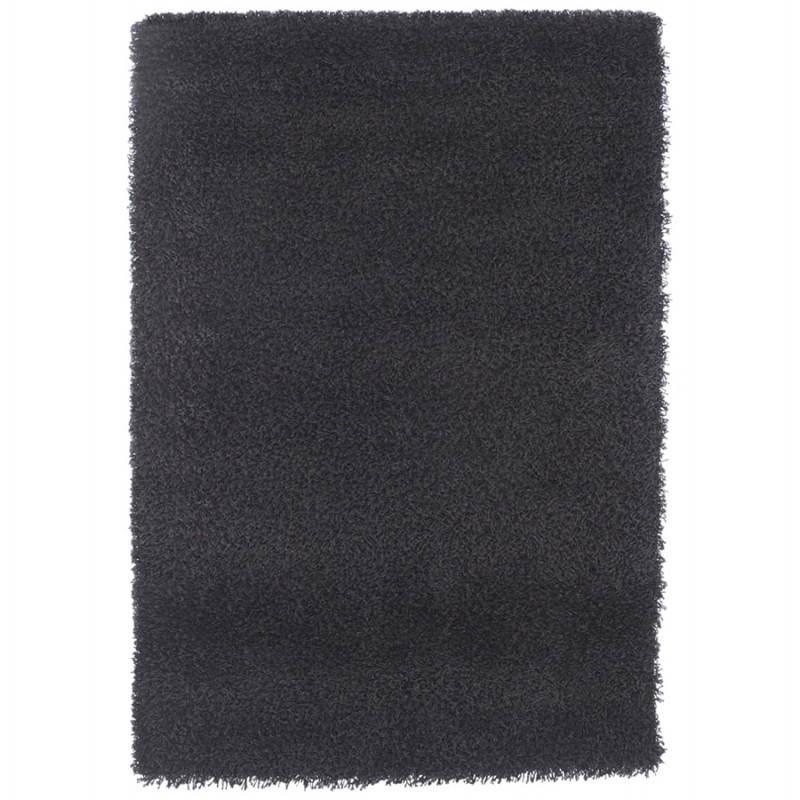 Tapis contemporain et design MIKE rectangulaire grand modèle (330 X 240) (noir) - image 21597
