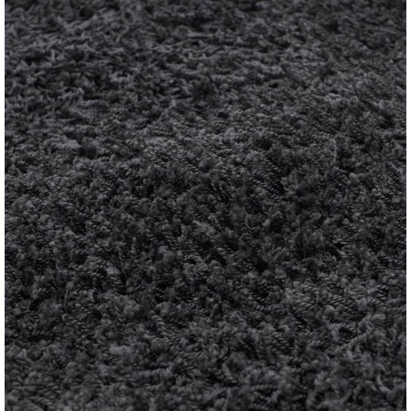 Tapis contemporain et design MIKE rectangulaire grand modèle (330 X 240) (noir) - image 21599