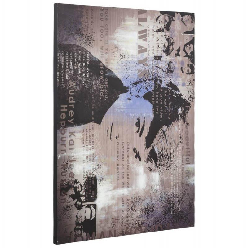 Decorative canvas AUDREY HEPBURN  - image 21744