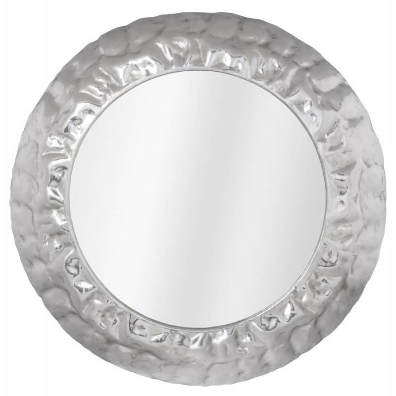 Specchio Tondo Da Parete.Specchio Da Parete Rotondo In Alluminio Bella