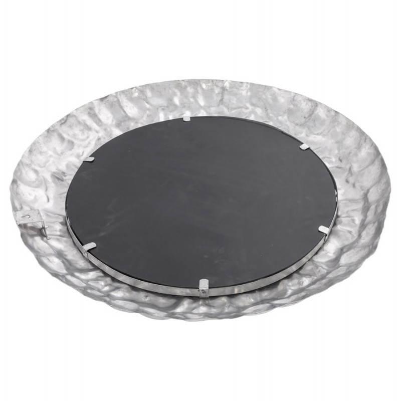 Specchio da parete rotondo in alluminio BELLA  - image 21769