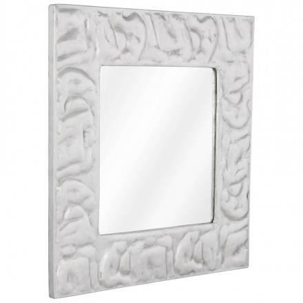 Quadratische Wand Spiegel BELLISSIMA Aluminium