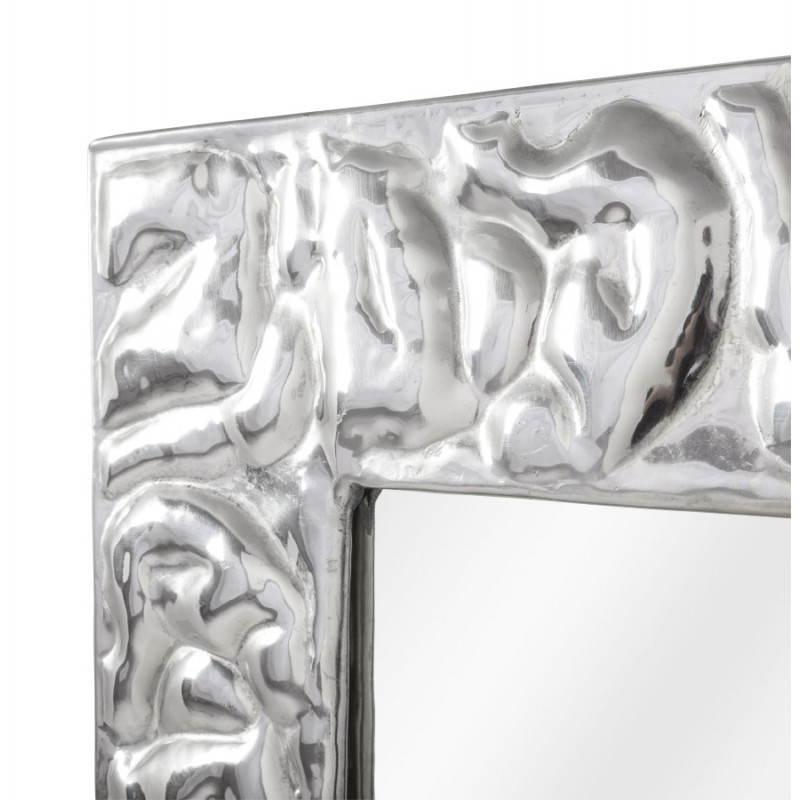 Square wall mirror BELLISSIMA aluminium  - image 21777