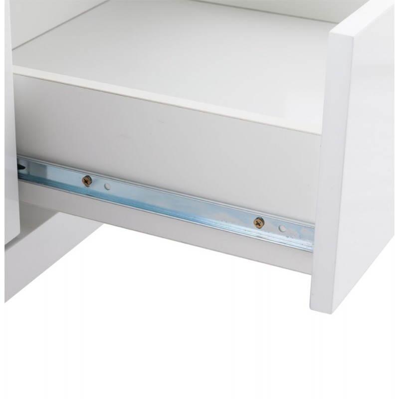 Meuble TV LIFOU en bois laqué (blanc) - image 21909