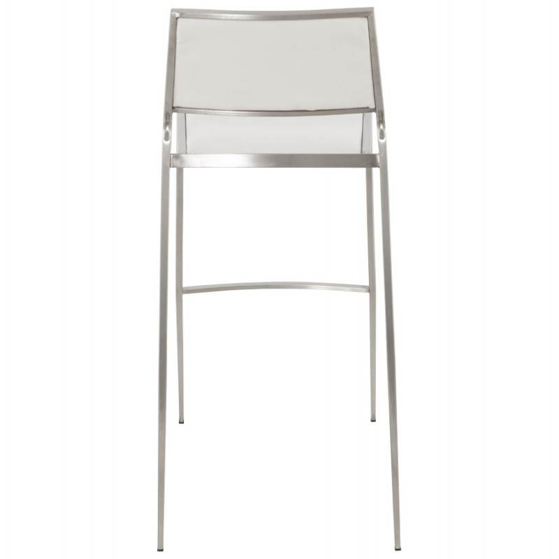 Tabouret de bar design et empilable SABRY (blanc) - image 22098