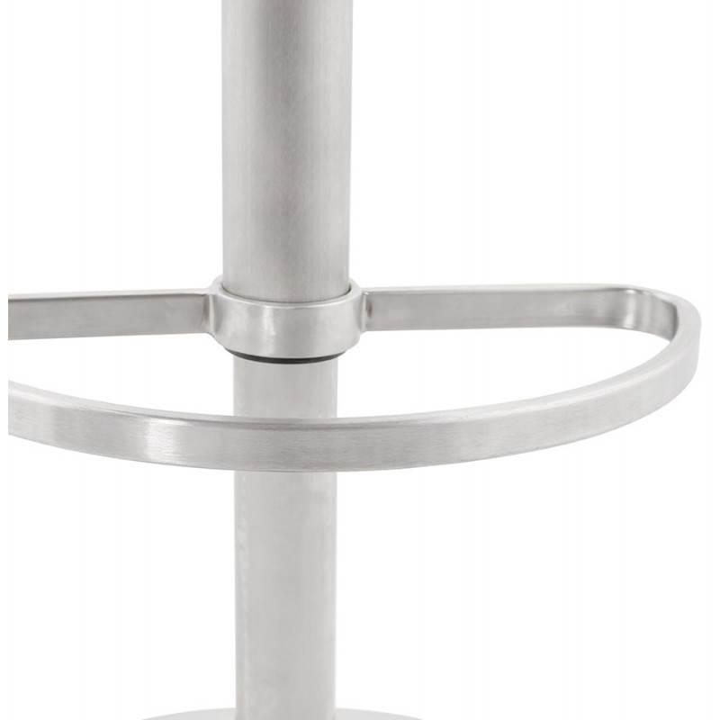 Diseño taburete de la barra de AMBER giratorio y ajustable (negro) - image 22389