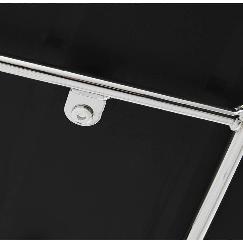 Tabouret de bar design BRIO en polypropylène (noir) - image 22438