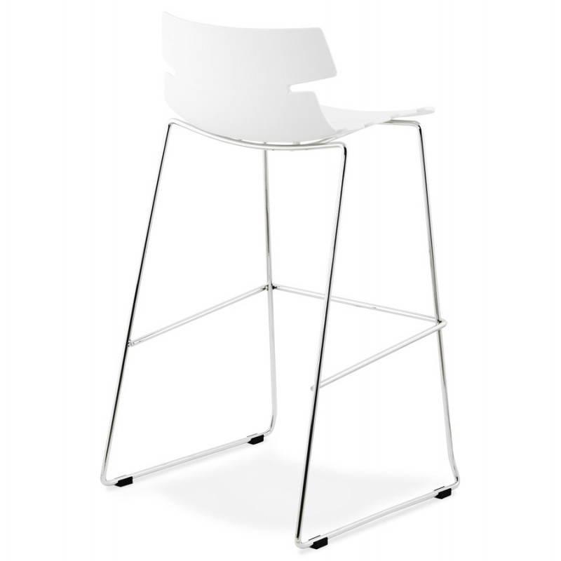 Design bar BRIO (white) polypropylene stool - image 22445