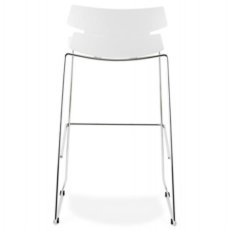 Design bar BRIO (white) polypropylene stool - image 22446