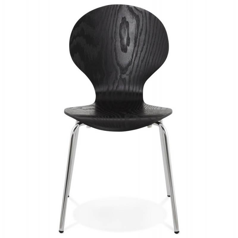 Chaise polyvalente CATANE en bois (noir) - image 22479
