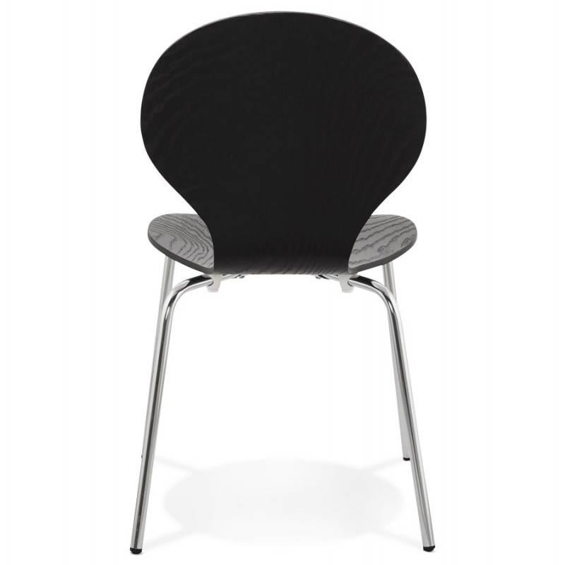 Chaise polyvalente CATANE en bois (noir) - image 22482