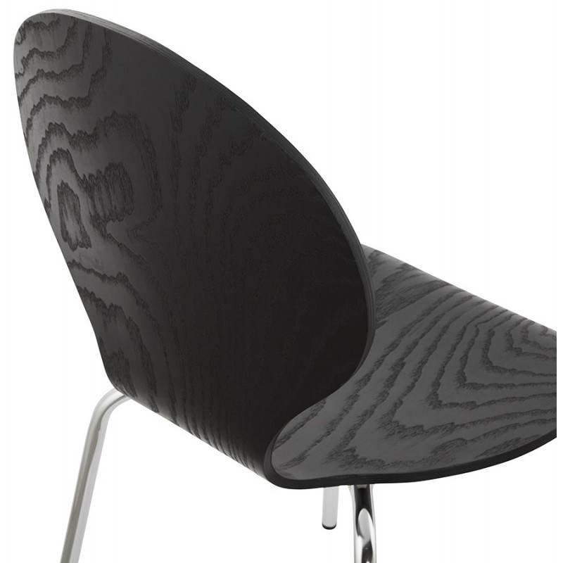 Chaise polyvalente CATANE en bois (noir) - image 22483