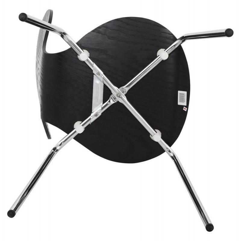 Chaise polyvalente CATANE en bois (noir) - image 22490