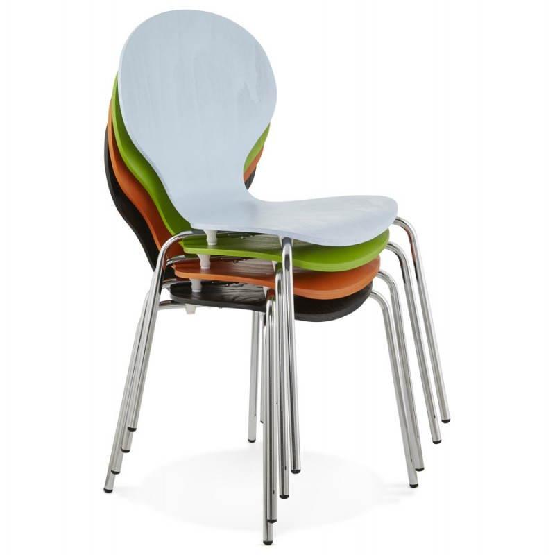 Chaise polyvalente CATANE en bois (noir) - image 22491