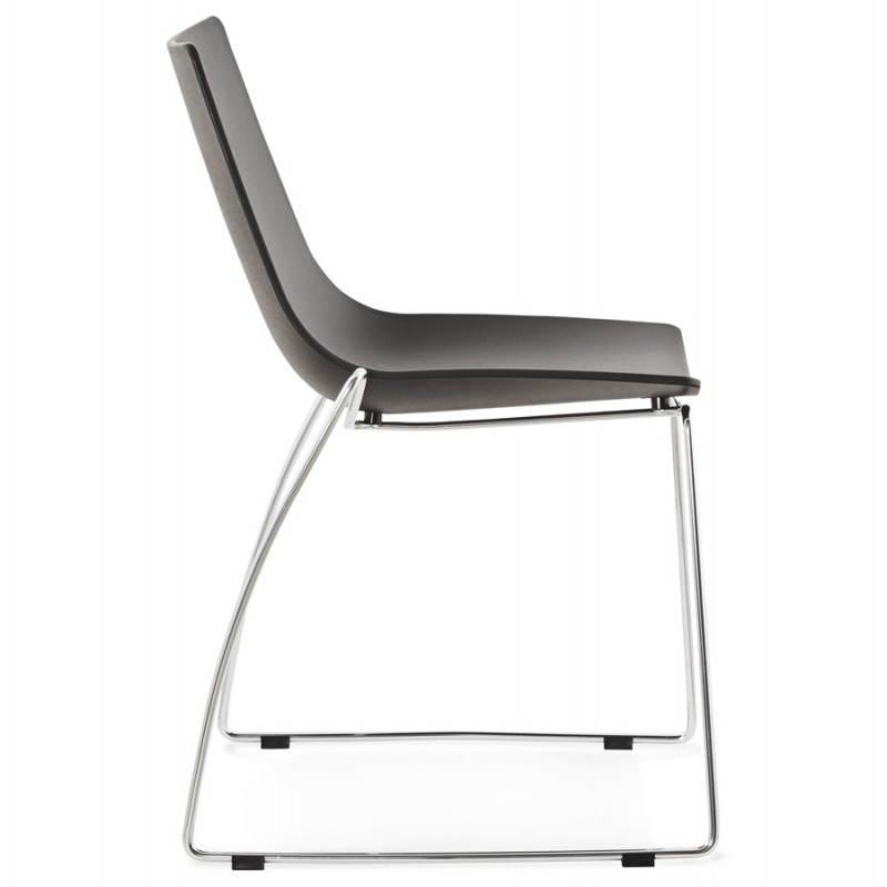 Chaise design et moderne NAPLES (noir) - image 22701