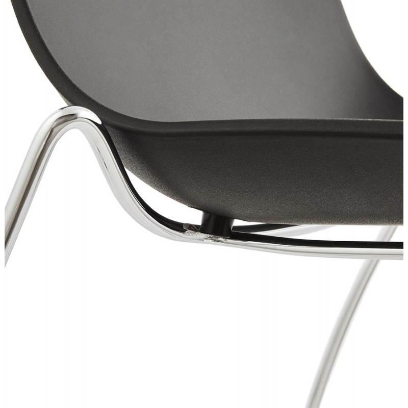 Chaise design et moderne NAPLES (noir) - image 22708